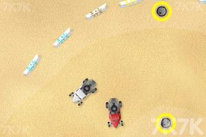 《沙地赛车》游戏画面1