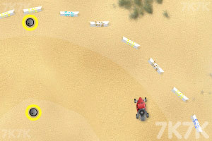 《沙地赛车》游戏画面4