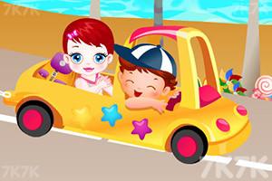 《卢卢娃海滩之旅》游戏画面3