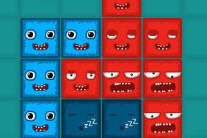 《侵占红方块选关版》游戏画面1