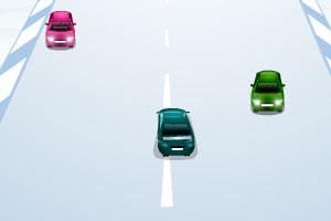 《冬季公路飙车》游戏画面1