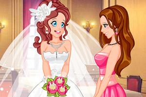 结婚典礼进行时