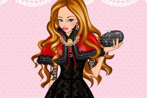《黑色长袖小礼服》游戏画面1