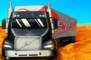 《3D货运大卡车无敌版》游戏画面1