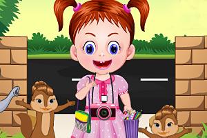 《艾玛在动物园》游戏画面1