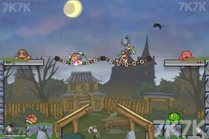 《炸弹炸毁小人》游戏画面4