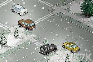 《称职的交警冬季版》游戏画面2