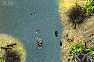 《越南船战》游戏画面4