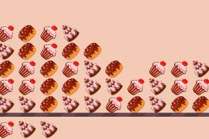 《美味甜品消消看》游戏画面1