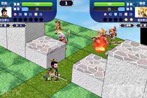 《三国争霸》游戏画面2