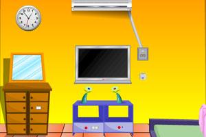 《逃出黄色客厅》游戏画面1