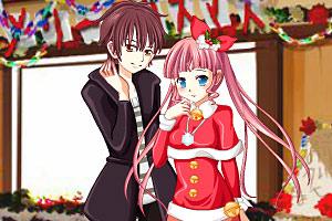 《小情侣圣诞装》游戏画面1