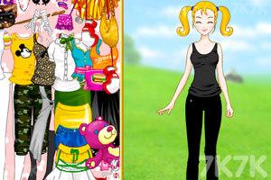 《大头妹和姐姐扮公主》游戏画面5