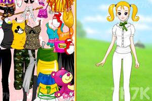 《大头妹和姐姐扮公主》游戏画面4
