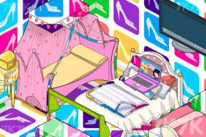 《豪华公主卧室》游戏画面2