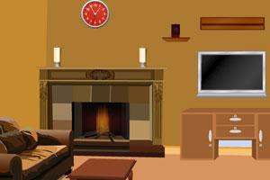 《逃出破旧客厅》游戏画面1