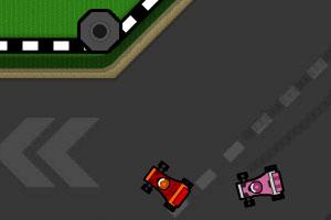 《漂移飙车大赛》游戏画面1