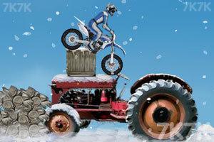 《冬季特技摩托》游戏画面2