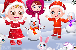 《可爱宝贝过圣诞节》游戏画面4