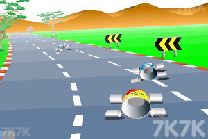 《公路汽车比赛》游戏画面6