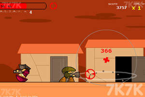 《疯狂射击3》游戏画面1