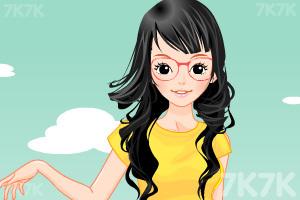 《小女生开学换装》游戏画面5