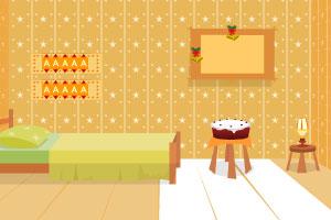 《新年卧室逃脱》游戏画面1