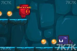 《机器人吃豆豆》游戏画面3