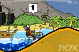 《疯狂脚踏车赛》游戏画面3