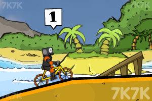 《疯狂脚踏车赛》游戏画面5