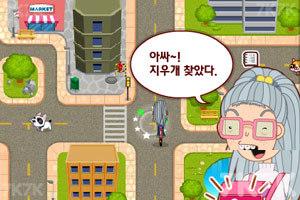 《美眉骑车上学》游戏画面4