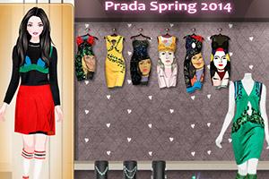 《普拉达14春装》游戏画面1