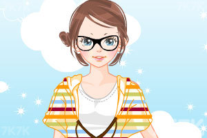 《卡通少女换装》游戏画面3