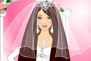 《婚礼精美发型》游戏画面1
