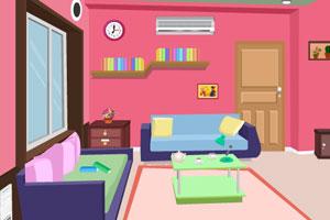 《逃出粉红色客厅》游戏画面1