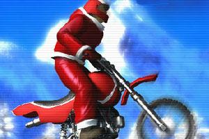 《极限冬季摩托车》游戏画面1