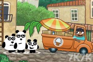 《小熊猫逃生记3》游戏画面1