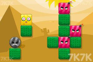 《炸飞彩方块2》游戏画面5