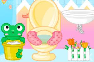 《美眉浴室装饰》游戏画面2