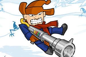 《雪地英雄》游戏画面1
