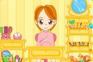《拉拉化妆师》游戏画面1