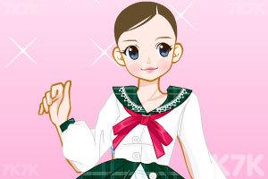 《粉红卡哇伊少女换装》游戏画面3