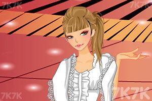 《时尚丽人换装》游戏画面2