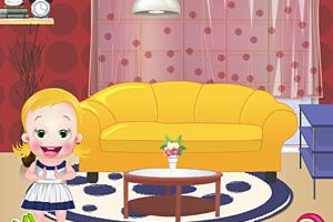《宝贝婴儿房装饰》游戏画面1