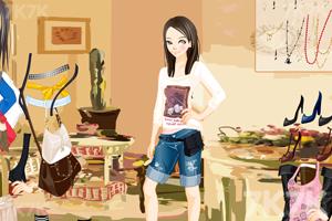 《电眼美女换装》游戏画面5