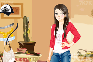 《电眼美女换装》游戏画面2