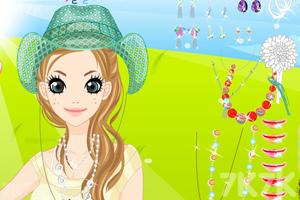《打扮田园美女》游戏画面3
