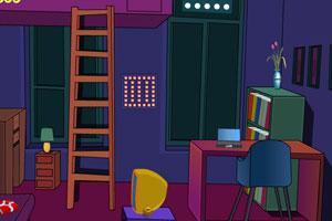 《逃离紫色卧室》游戏画面1