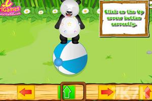 《照顾熊猫宝贝》游戏画面2