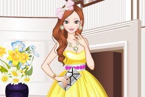 《迷人礼服装》游戏画面1